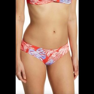 NEW Red Carter Reversible Hipster Bikini Bottoms
